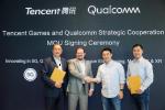 腾讯游戏与Qualcomm宣布达成战略合作